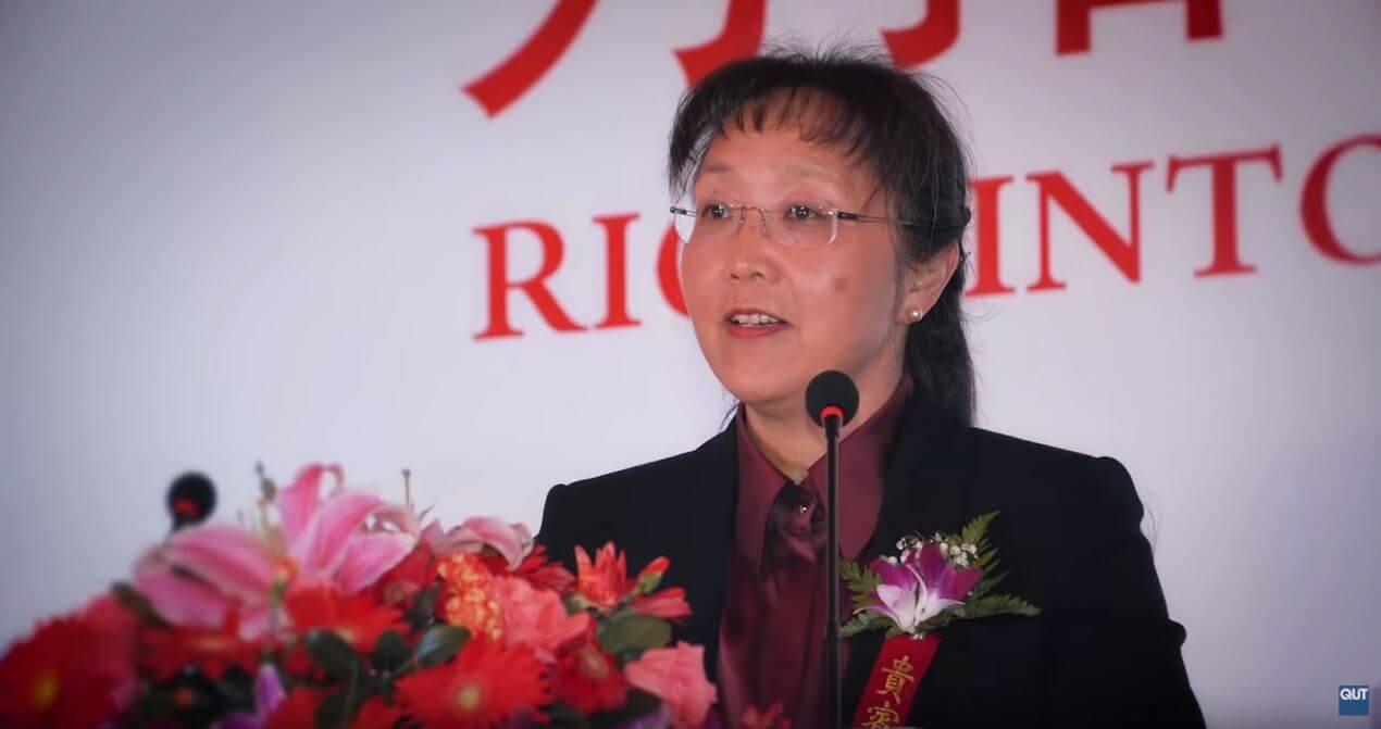 昆士兰科技大学QUT首位华人女校监Xiaoling Liu博士