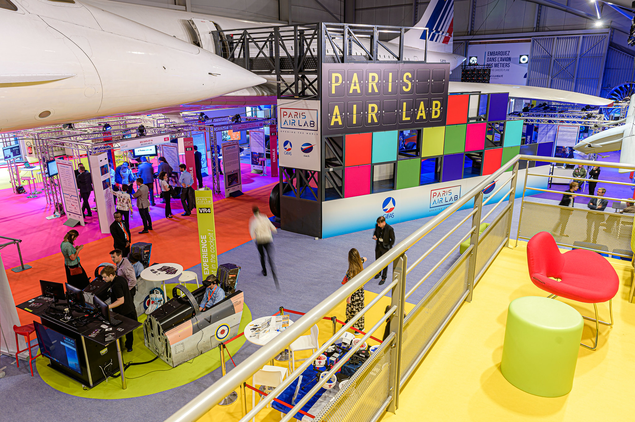 巴黎航空航天实验室创新展Paris Air Lab图片
