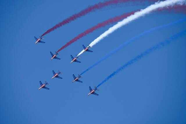 第53届巴黎布尔歇国际航空航天展户外图