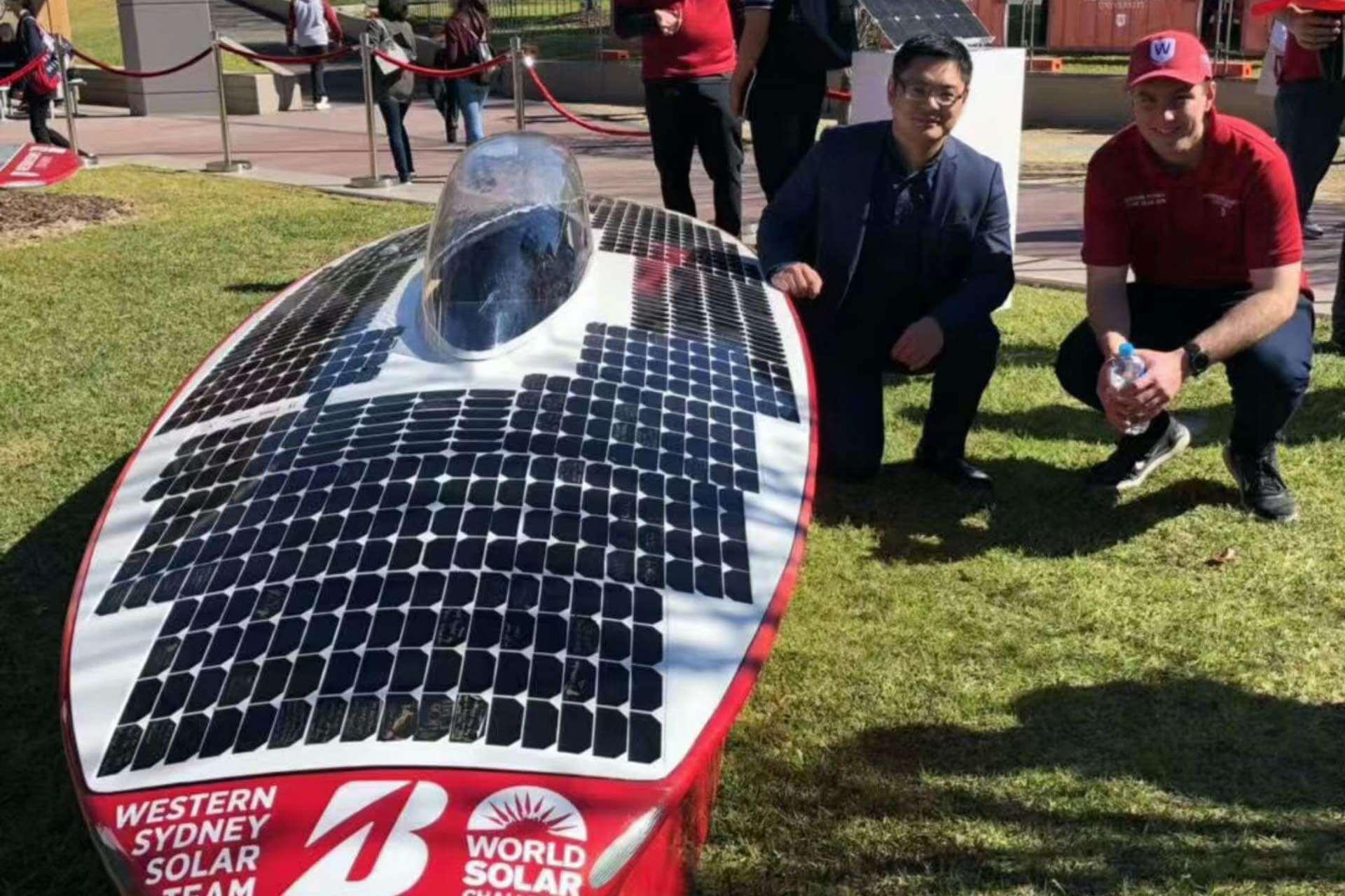 太阳能汽车大赛冠军
