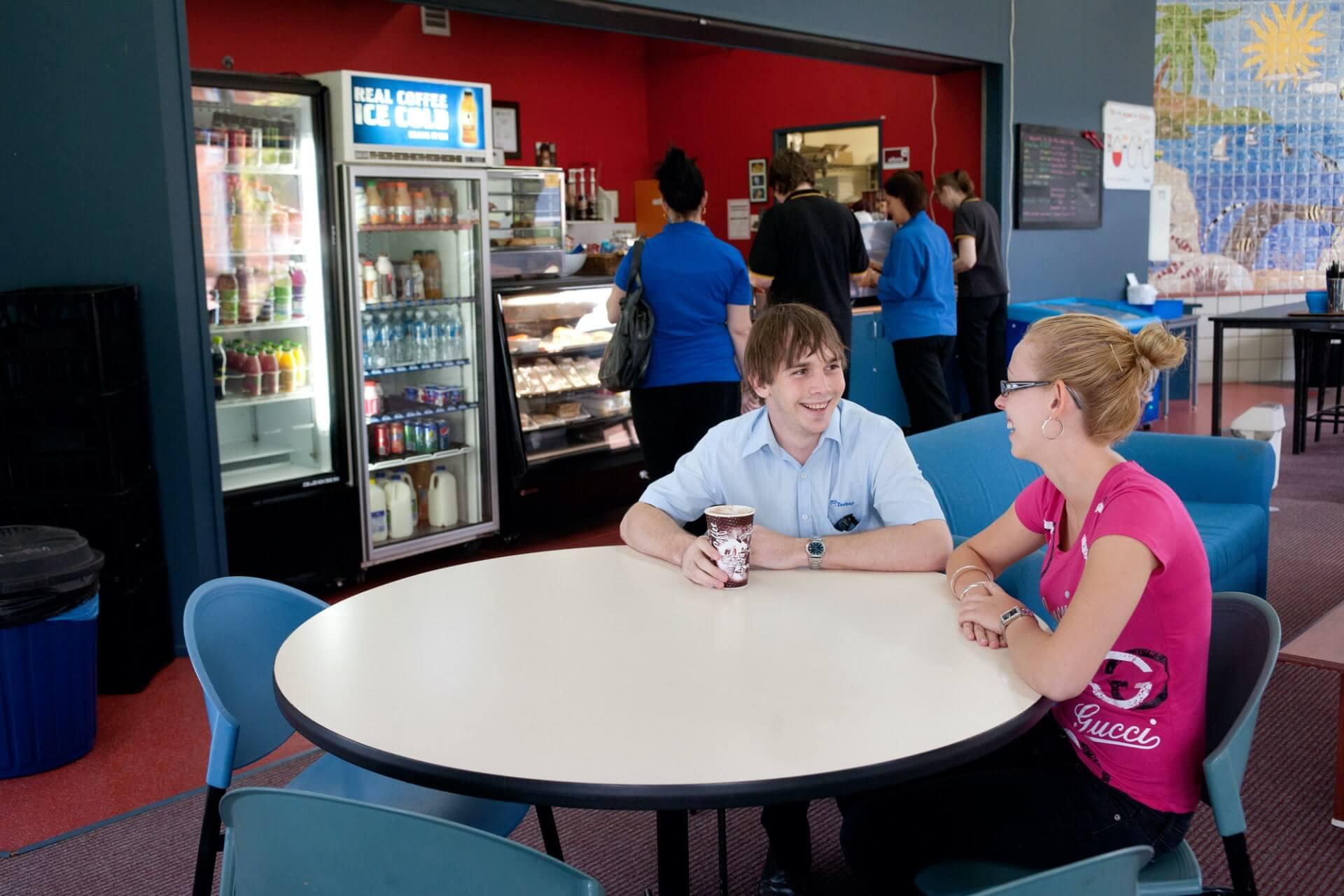 南昆士兰大学茶歇区