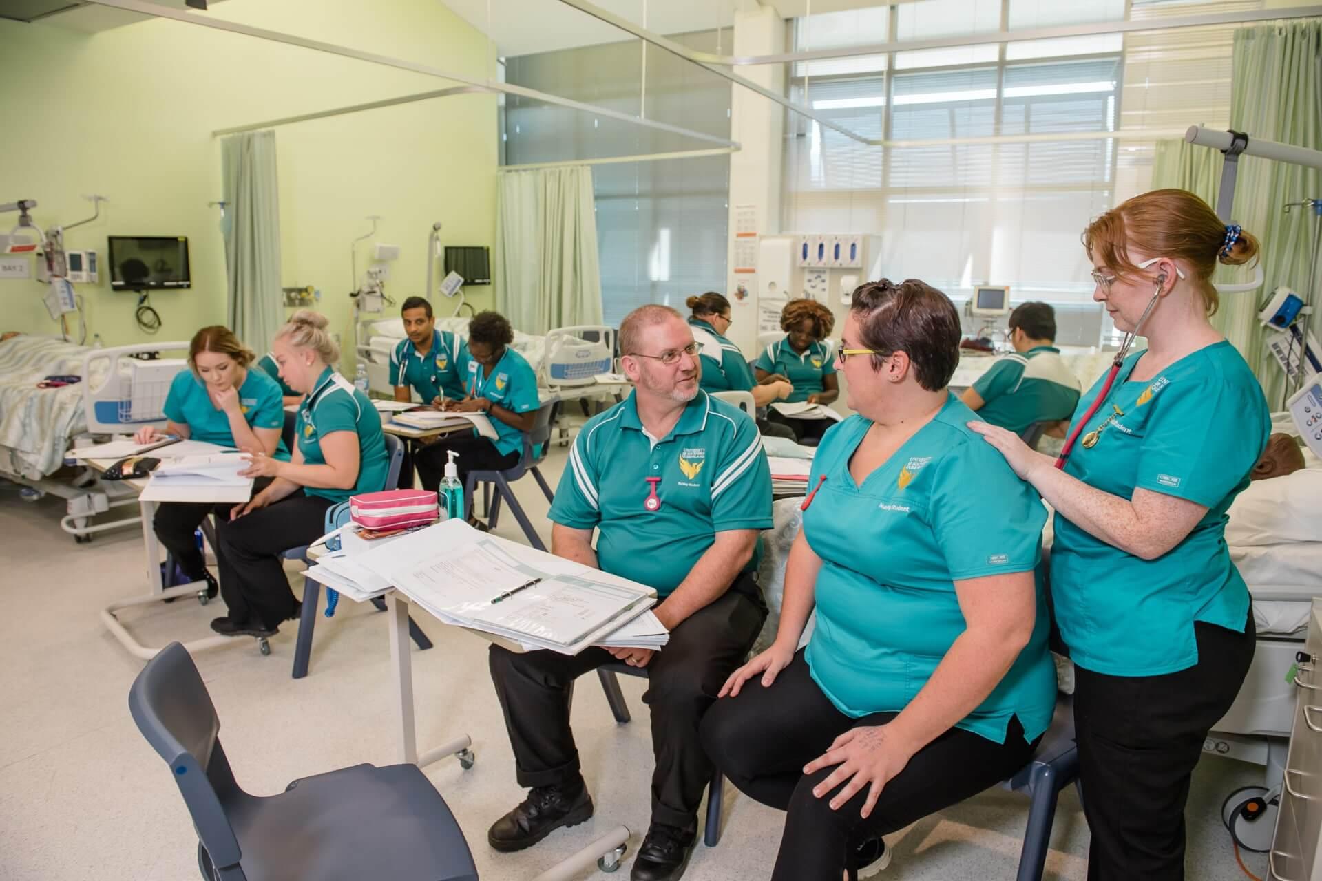 南昆士兰大学护理专业