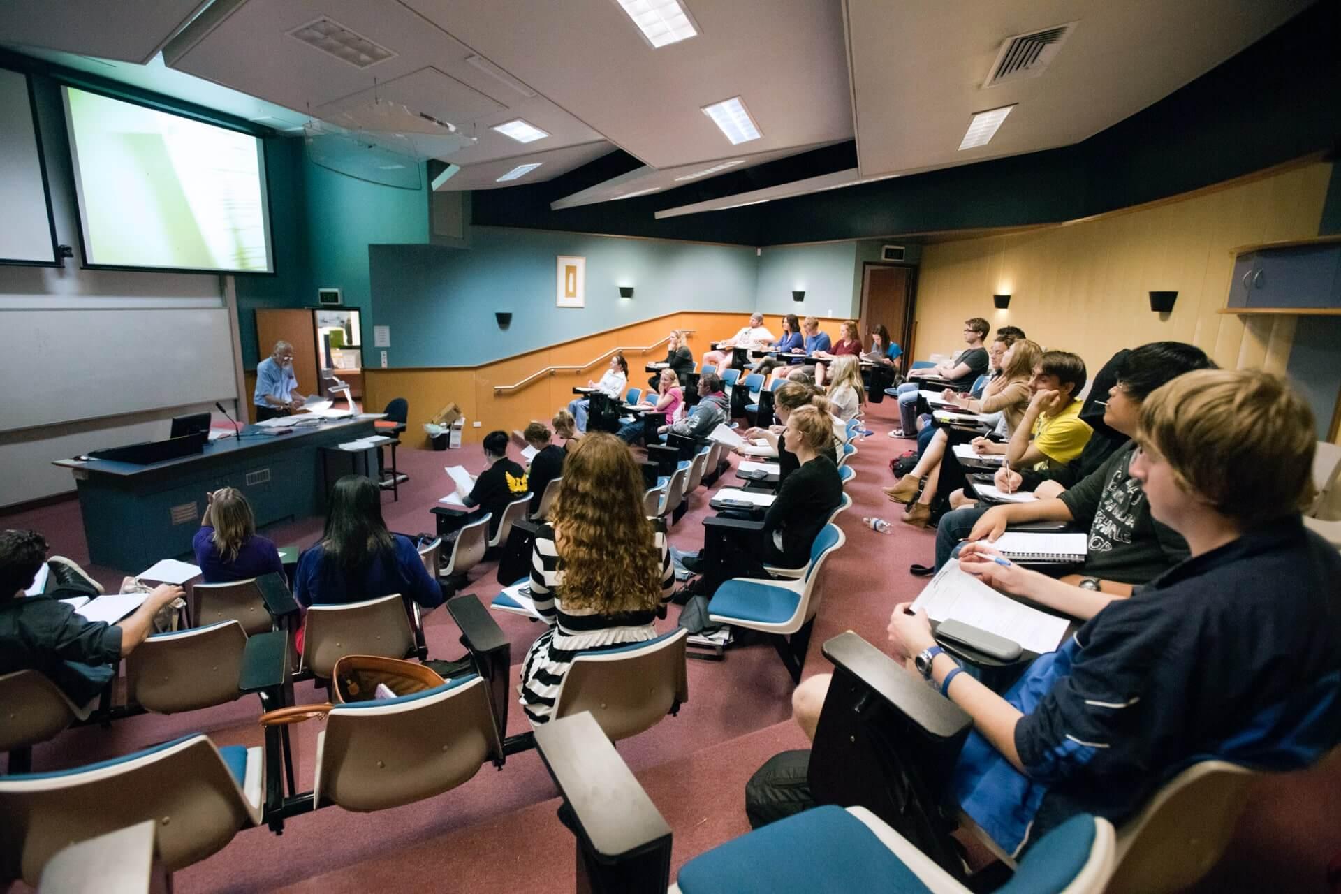 南昆士兰大学课堂